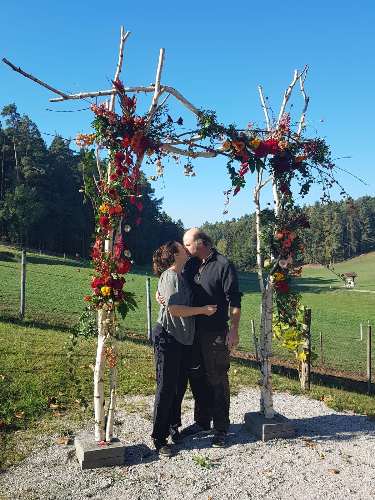 Sabine&Bernd im goldenen Herbst